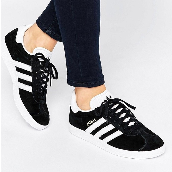 adidas Gazelle - Black/White